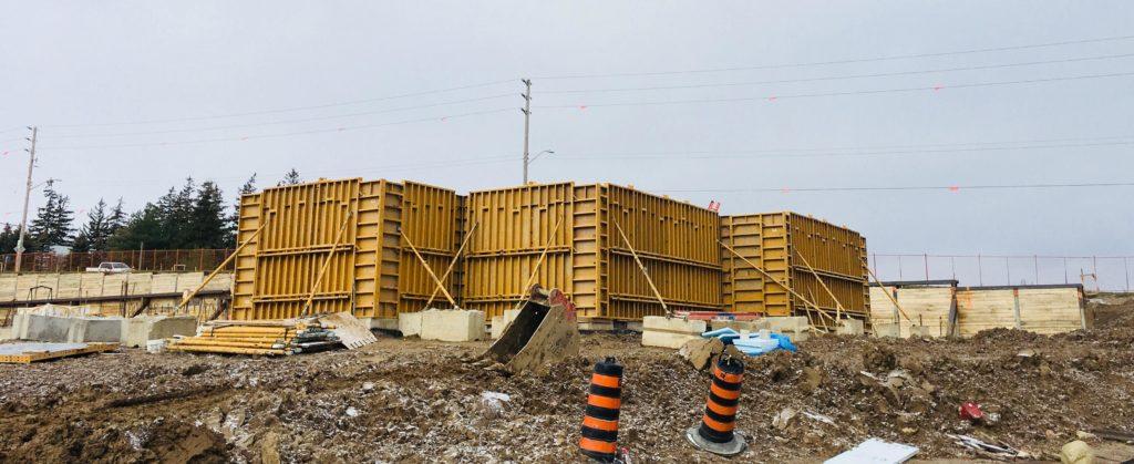 EFCO Concrete Wall Forming