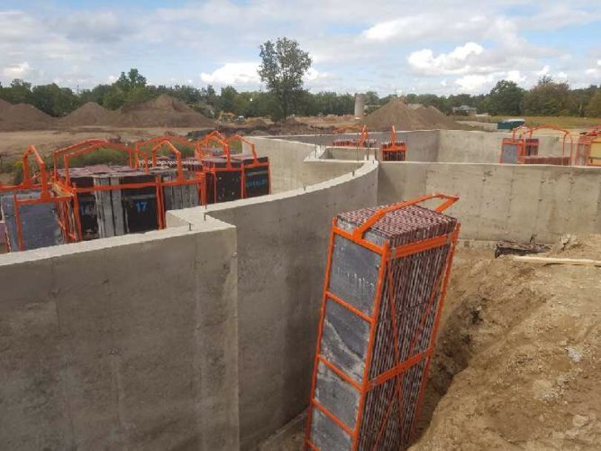 Curved Concrete Forming