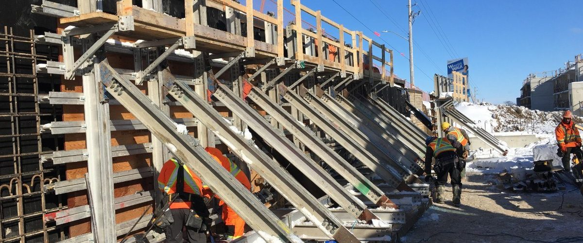 Concrete Wall Forming Contractor Riverside Concrete Forming