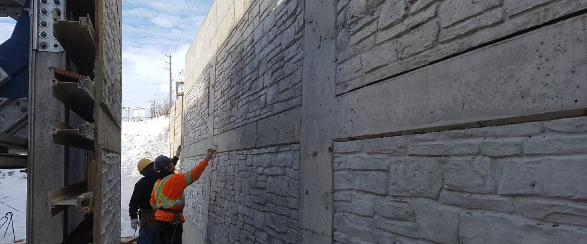 Architectural Retaining Wall