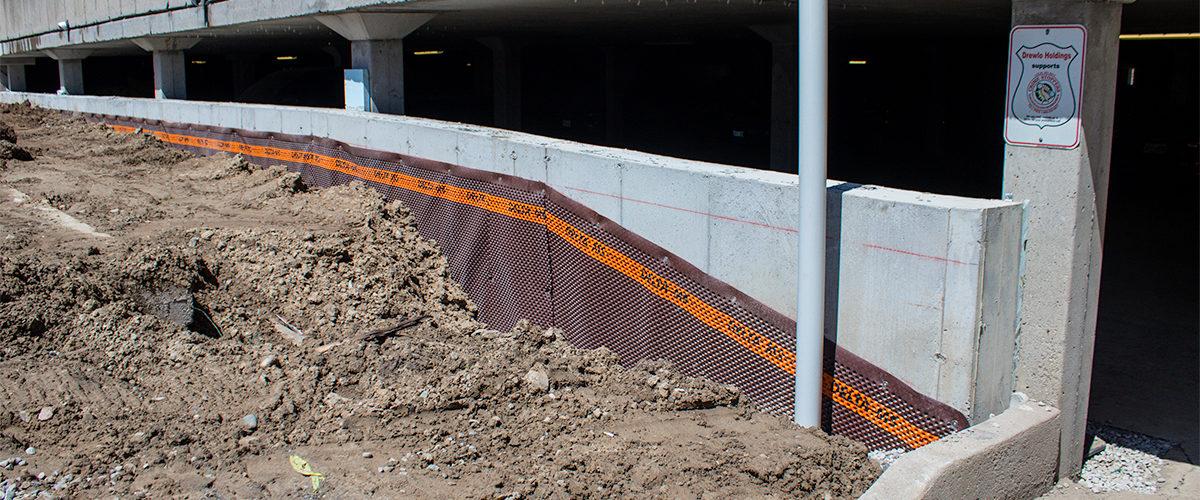 Concrete Retaining Wall Installation