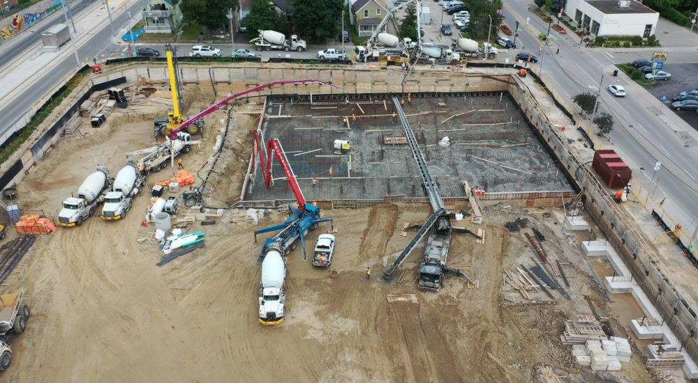 Concrete Raft Slab Pour | Kitchener